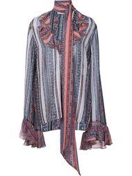 блузка с принтом пейсли Rodarte