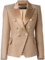 фактурный пиджак Balmain
