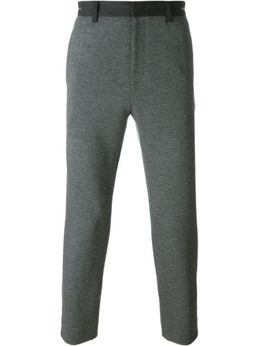 укороченные брюки  System Homme