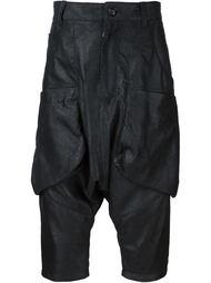 брюки с заниженным шаговым швом Alexandre Plokhov