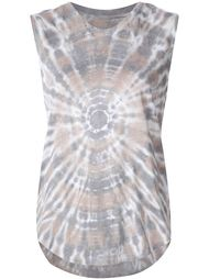 tie dye effect tank top Raquel Allegra