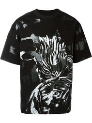 футболка с принтом  System Homme