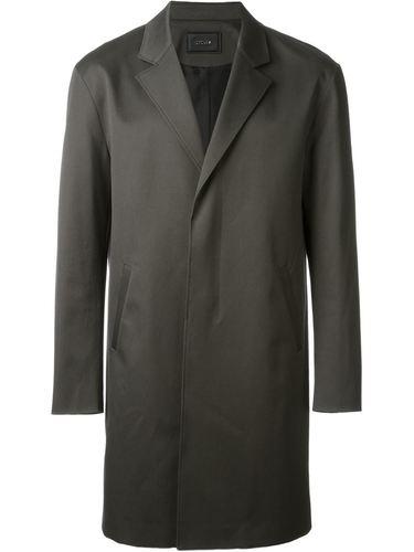 пальто на потайной застежке System Homme