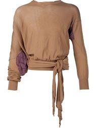 'Squiggle Bio Slash' sweater Vivienne Westwood Gold Label