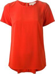 футболка с плиссированной спинкой  Michael Michael Kors