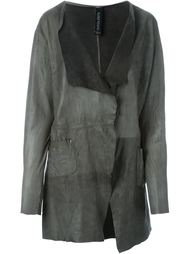 asymmetric hem long lapels jacket Giorgio Brato