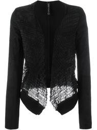 interlaced textured jacket Giorgio Brato