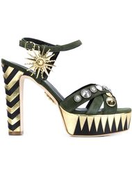 studded platform sandals Fausto Puglisi