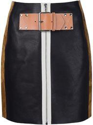 лоскутная юбка Alexander Wang