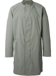 свободное пальто на потайной застежке  System Homme