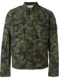 куртка с камуфляжным принтом  Stone Island