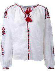 блузка с цветочной вышивкой  Vita Kin