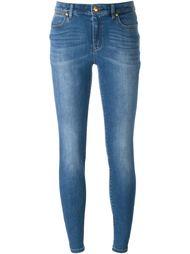 выбеленные джинсы кроя скинни   Michael Michael Kors