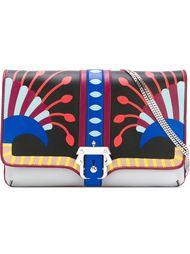 сумка на плечо с принтом 'peacock' Paula Cademartori