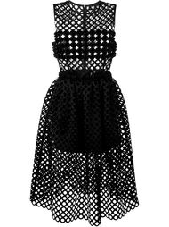 dots cut-out dress Paskal