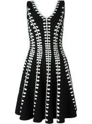 вязаное платье А-образного кроя   Alexander McQueen