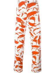 брюки с камуфляжным принтом Maharishi