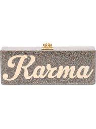 прямоугольный клатч-футляр 'Flavia Karma' Edie Parker