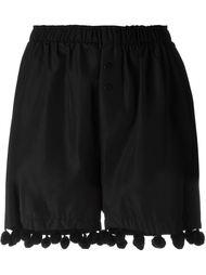 elastic waist pompom detail shorts Christopher Shannon