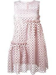 перфорированное платье  Paskal