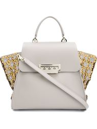 'Eartha Iconic' top handle appliqué bag Zac Zac Posen