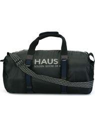 дорожная сумка с принтом логотипа Haus