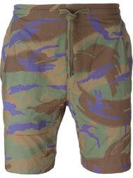 шорты для плавания с камуфляжным принтом Maharishi