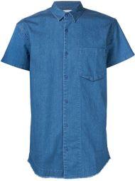 джинсовая рубашка с необработанными краями Chapter