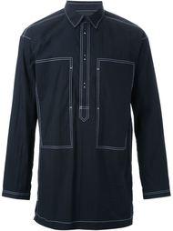 рубашка с контрастной строчкой Alexander Wang