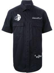 рубашка с нашивками Alexander Wang