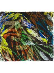 плиссированный шарф с растительным принтом Pleats Please By Issey Miyake