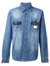 джинсовая рубашка 'Follow Me' Philipp Plein
