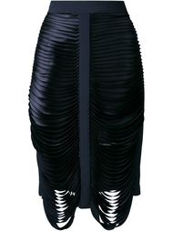 каскадная юбка  Dion Lee
