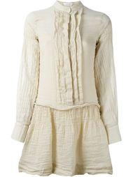 полосатое платье с эффектом помятости See By Chloé