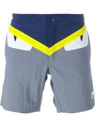 плавательные шорты 'Bag Bugs' Fendi
