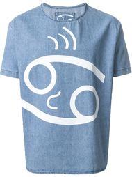 футболка с принтом-логотипом 69