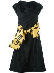 платье с бантом  Moschino