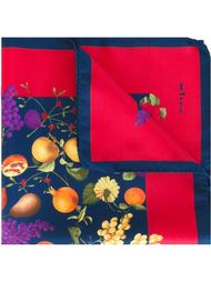 нагрудный платок с принтом фруктов Kiton