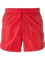 плавательные шорты с логотипом Moncler