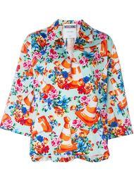 блузка с принтом  Moschino