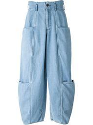 брюки свободного кроя 69