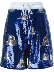 sequin embellished shorts Joyrich