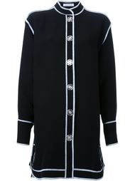 платье-рубашка с контрастной окантовкой  J.W. Anderson