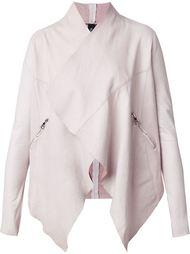 waterfall leather jacket Giorgio Brato