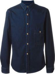 джинсовая рубашка Lemaire