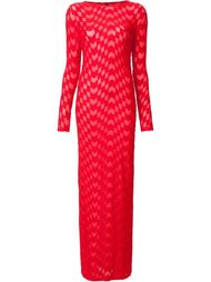 textured maxi dress Gareth Pugh