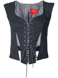 laced corset vest Vivienne Westwood Red Label