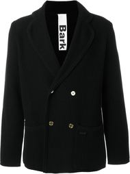 двубортное трикотажное пальто Bark