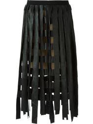 юбка с разрезами  Aviù