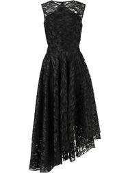 asymmetric lace dress  Christian Siriano